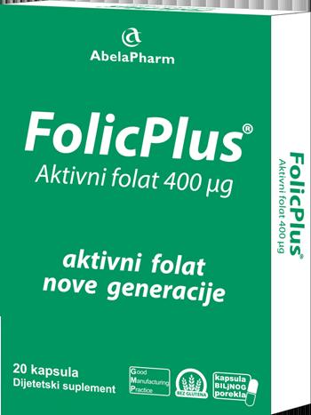 FolicPluc - Aktivni oblik folne kiseline