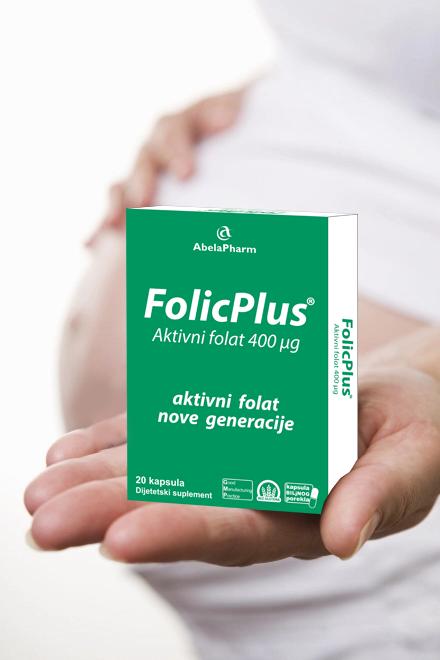 Trudnica i folna kiselina - FolicPlus